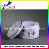 Rectángulo de empaquetado del papel hecho a mano de China de la joyería hermosa elegante del cilindro