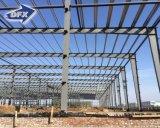 싸게 방수 및 내화성이 있는 Prefabricated 강철 구조물 창고