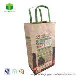 Sacchetto della carta kraft del carbone vegetale, sacchetto impaccante del carbone di legna del BBQ