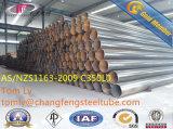 API 5L/SI530/DIN2460/ASTM A53 Gr. B ERW verdünnen Wandstärke-Kohlenstoffstahl-Rohre