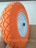 Roda de Flatfree do carrinho de mão de roda da fábrica