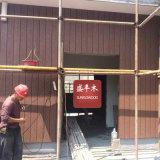 Voie de garage imperméable à l'eau amicale de mur de revêtement de mur extérieur d'Eco WPC