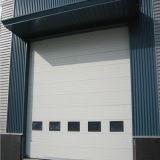 産業オーバーヘッドによって絶縁される部門別のドア(HF-007)