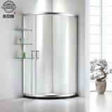 Vidro corrediço de canto de Duche 6mm gabinetes de banho de chuveiro em vidro transparente