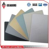 El panel compuesto de aluminio de Ideabond PVDF (blanco puro AF-406)