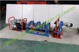 Машина сплавливания приклада пластичной машины сварки в стык HDPE машины Shr-250 гидровлическая