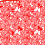 Matériau de revêtement de mur de Camelsteel dans l'impression de flore