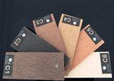 Decking composé en plastique en bois extérieur du plancher WPC de 146*23mm pour extérieur