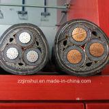 Faisceau solide ou câble blindé fortement appuyé de faisceau du secteur 240mm XLPE 4