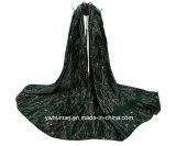 Form Soft Begonia Hijab Scarf Flower Printed Scarf für Lady
