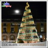 クリスマス装飾的なライト3Dモチーフの木LEDの街灯