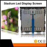 Visualização óptica quente do diodo emissor de luz da propaganda do perímetro do estádio de futebol da venda