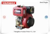 El aire refrescó el motor diesel con el retroceso salpicado presión de Yarmax o el arranque eléctrico