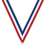 Todos os tipos de desportos medalhas com fita