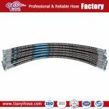 4 hydraulischer Schlauch der Schicht-Stahldraht-Metallverstärkung4sp
