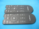 Präzision Silk Screen Printing PU Coated Silicone Rubber Keypad von Remote Controller für Stereo Equipment