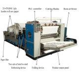 Alta velocidad automático V doblar papel toalla de mano que hace la máquina