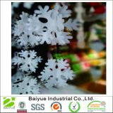 Festão nova de feltro do floco da neve da forma 2017 feita em China