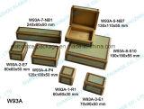 Недорогая коробка Jewellry коробки упаковки Handmade деревянная установленная