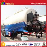 30cbm -100cbm 세 배 차축 트레일러 트럭을%s 대량 사일로 시멘트 유조선