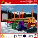Plate-forme Tri-Axle jeu/ Post semi remorque de transport