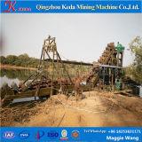 Kettenwannen-Sand-ausbaggerndes Gerät für alluviales Gold