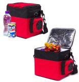 Mini refrigerador termoelétrico e mais quente 6 litros DC12V para uso em atividades ao ar livre