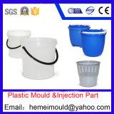 Moulage en plastique pour le produit de ménages, panier, seau, cuvette, cuvette