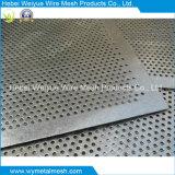 Plaque de tôle perforée en acier galvanisé