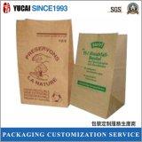 Sacchetto 2017 di imballaggio per alimenti del sacchetto della carta kraft del Brown