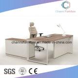 중국 가구 나무로 되는 컴퓨터 테이블 L 모양 사무실 책상 (CAS-MD1808)
