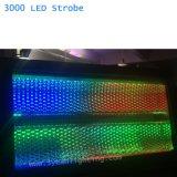 Indicatore luminoso atomico dello stroboscopio dell'indicatore luminoso White+ RGB DMX 3000 LED dello stroboscopio di alto potere
