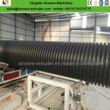 Espulsione ondulata del tubo del polietilene che fa macchina