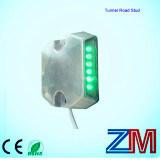 Etiqueta de plástico atada con alambre aluminio del camino del espárrago/LED del camino del alto brillo que contellea