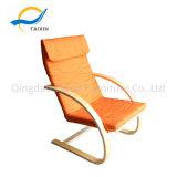 직물 100%년 면을%s 가진 튼튼한 편리한 가정 나무로 되는 의자