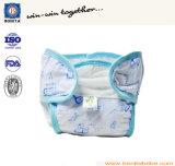 再使用可能で環境に優しく柔らかい通気性の洗濯できる赤ん坊のおむつ
