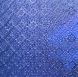 Vidro com padrões de decoração