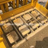 Macchina concreta manuale vuota mobile del mattone