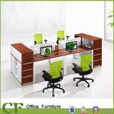 Büro-Möbel-Schreibtische modularer Partittion Bildschirm-hölzerne Büro-Partition