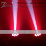 75 Punkt-Wäsche 2 in 1 LED-beweglichen Hauptbeleuchtung RGBWA+UV Farben