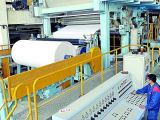 Heißes Verkaufs-Toiletten-Seidenpapier, das Maschine riesigen Gewebe-Rollenproduktionszweig bildet