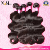 100% 처리되지 않은 자연적인 곱슬 머리 씨실 도매 필리핀 Virgin 사람의 모발 연장