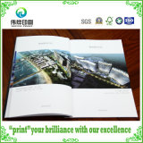 Real Estate Promotionのための贅沢なFancy Paper Catolog Offset Printing