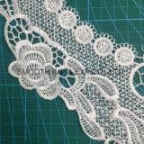 かぎ針編みの刺繍のトリミングのレースカラーふさの衣服のアクセサリの綿織物