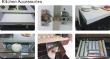 高い光沢のある紫外線食器棚(ZH26)