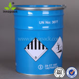 20L металлического олова ковш с крышкой и ручкой для краски или химического