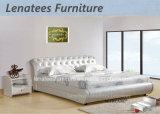 Самомоднейшая кожаный французская мебель спальни A007