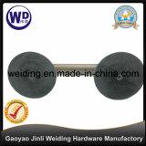 Zwei des Stahlglasder saugcup-/Saugen Cup Heber-Wt-3802