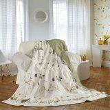Cobertor de seda do Throw do verão de linho de base do OEM Oeko-Tex 100 da alta qualidade da neve de Taihu
