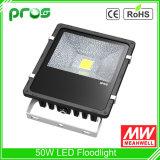 Meanwellドライバーが付いている製品の昇進50W LEDのフラッドライト